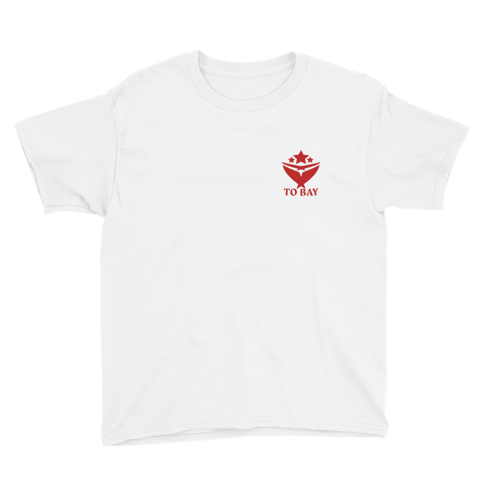 Kids TO BAY Statement Tee w/ Red Logo (5 Colors)
