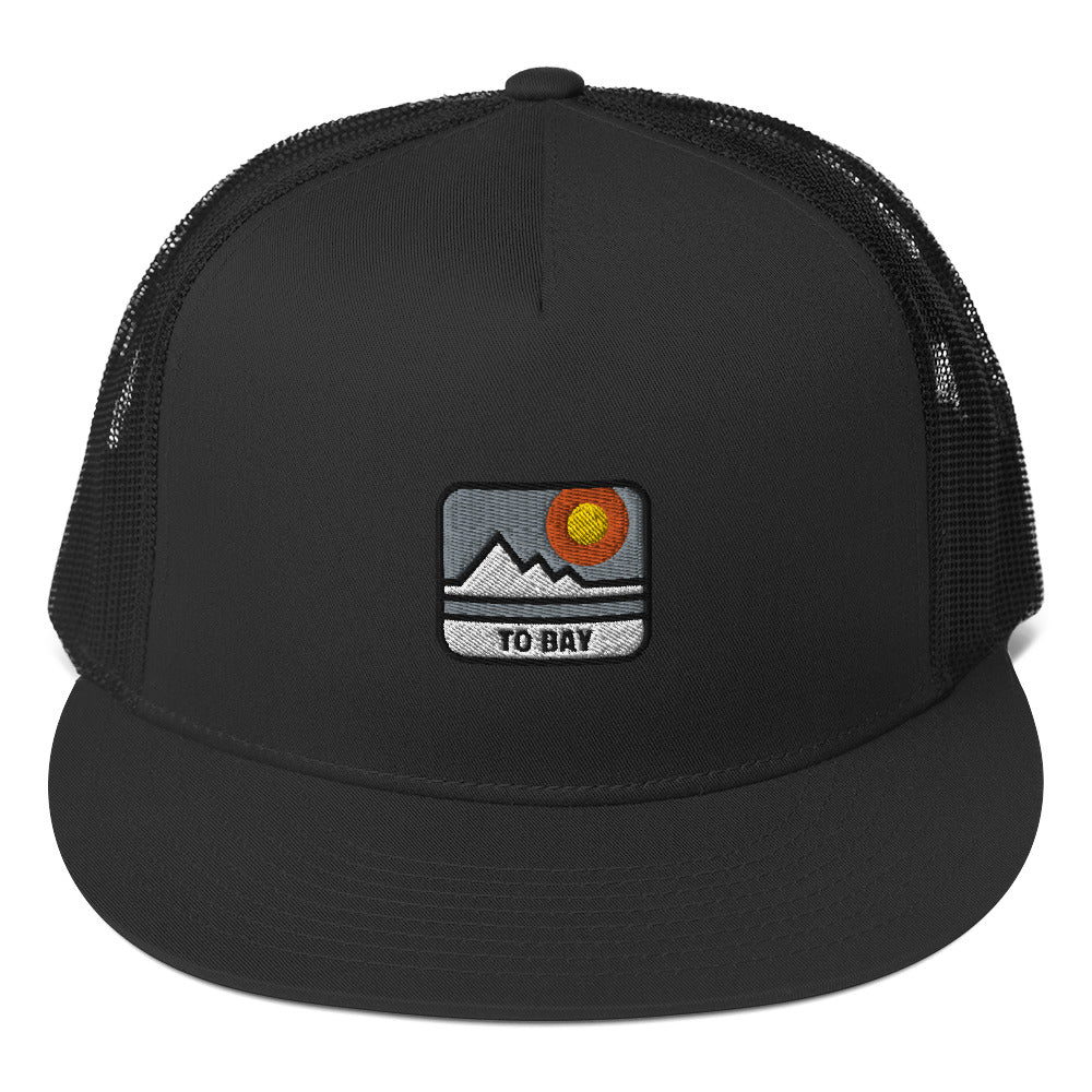 TO BAY Sunrise Trucker Cap (4 Colors) - TO BAY LLC