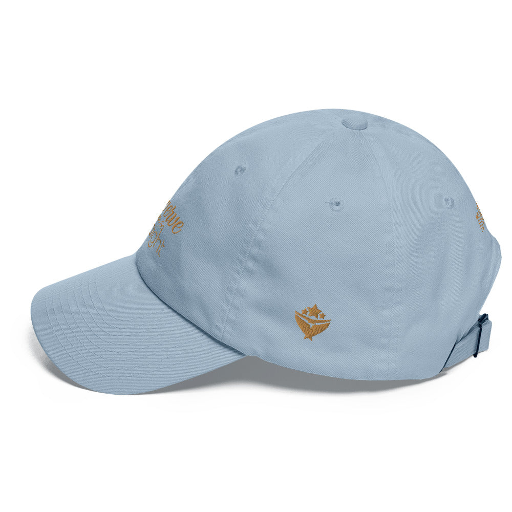 TO BAY GOLD LOGO Swerve Straight Dad hat (3 Colors) - TO BAY LLC