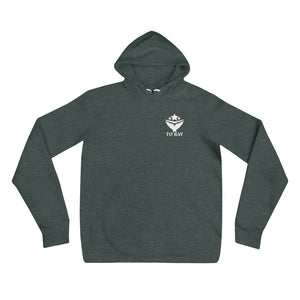 TO BAY Statement Hoodie White Logo (4 Variants)