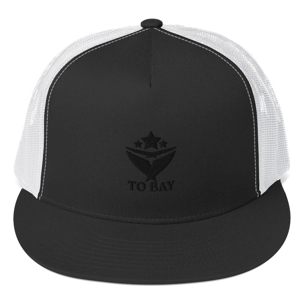 TOBAY BLACK LOGO Trucker Cap (3 Colors) - TO BAY LLC