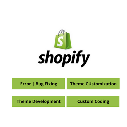 Shopify Bugs, Shopify Issues, Shopify Customization, Shopify Experts