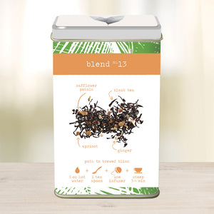 Apricot Ginger Tango - 2.5 oz loose tea