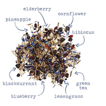 Load image into Gallery viewer, Pineapple Blues - 15 tea sachets