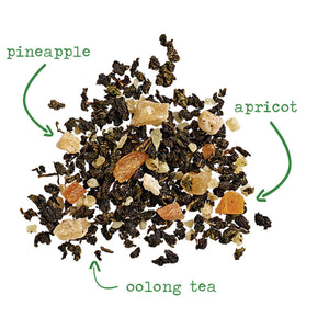 Pineapple Oolong Quench - 3.5 oz loose tea