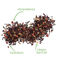 Load image into Gallery viewer, Rosa de Jamaica - 2.5 oz loose tea