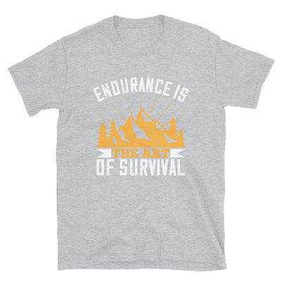Endurance Is The Art Of Survival - Monkeyduds