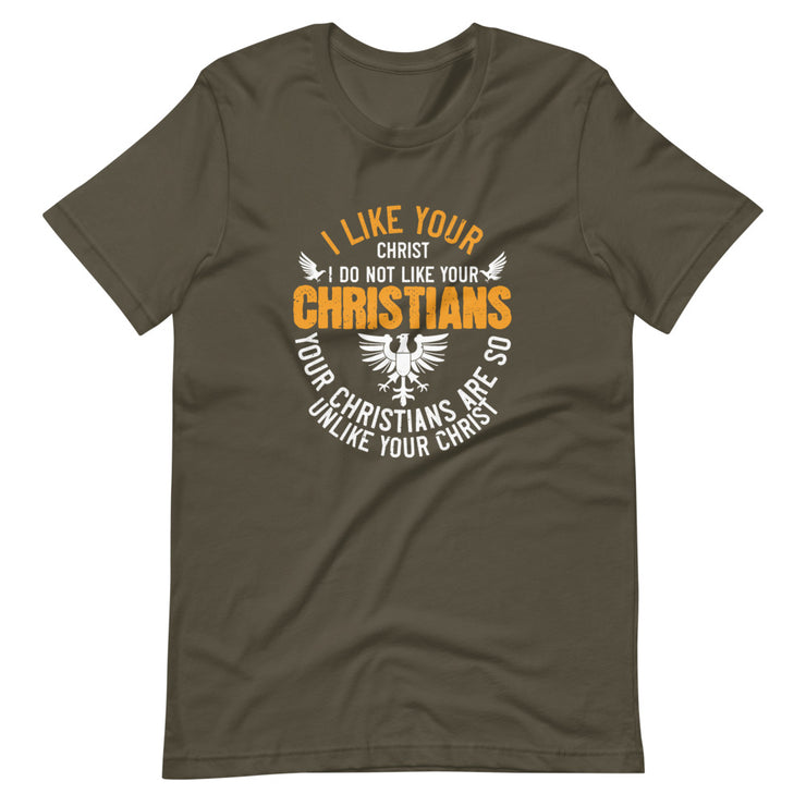 I Like Your Christ, I Do Not Like your Christians - Monkeyduds