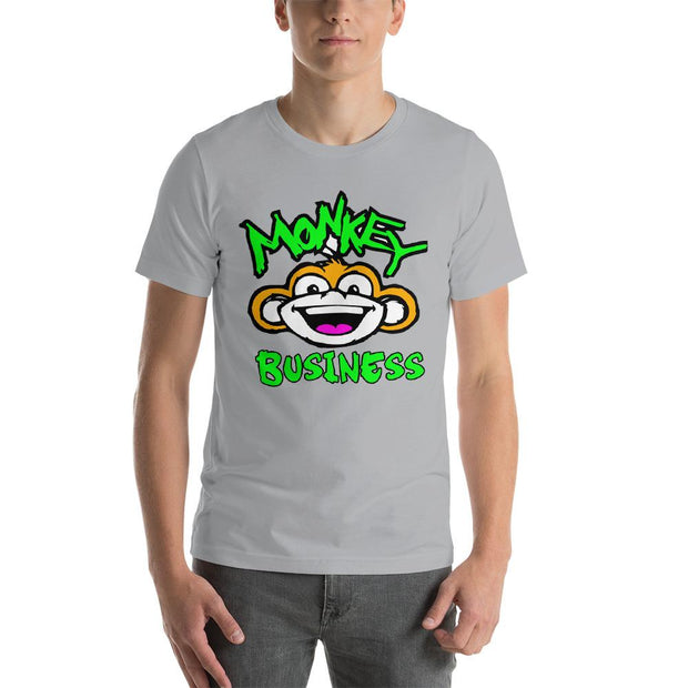 Monkey Business T-Shirt Monkeyduds Silver S