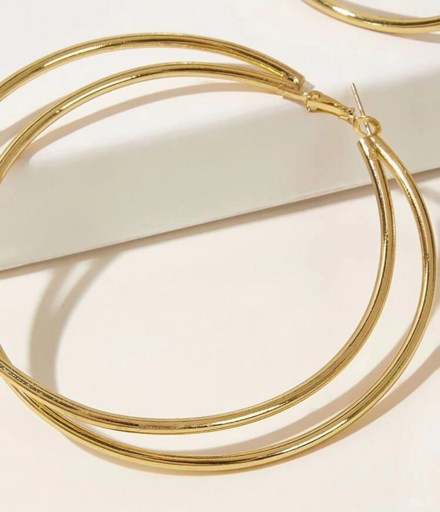 Double Golden Hoop