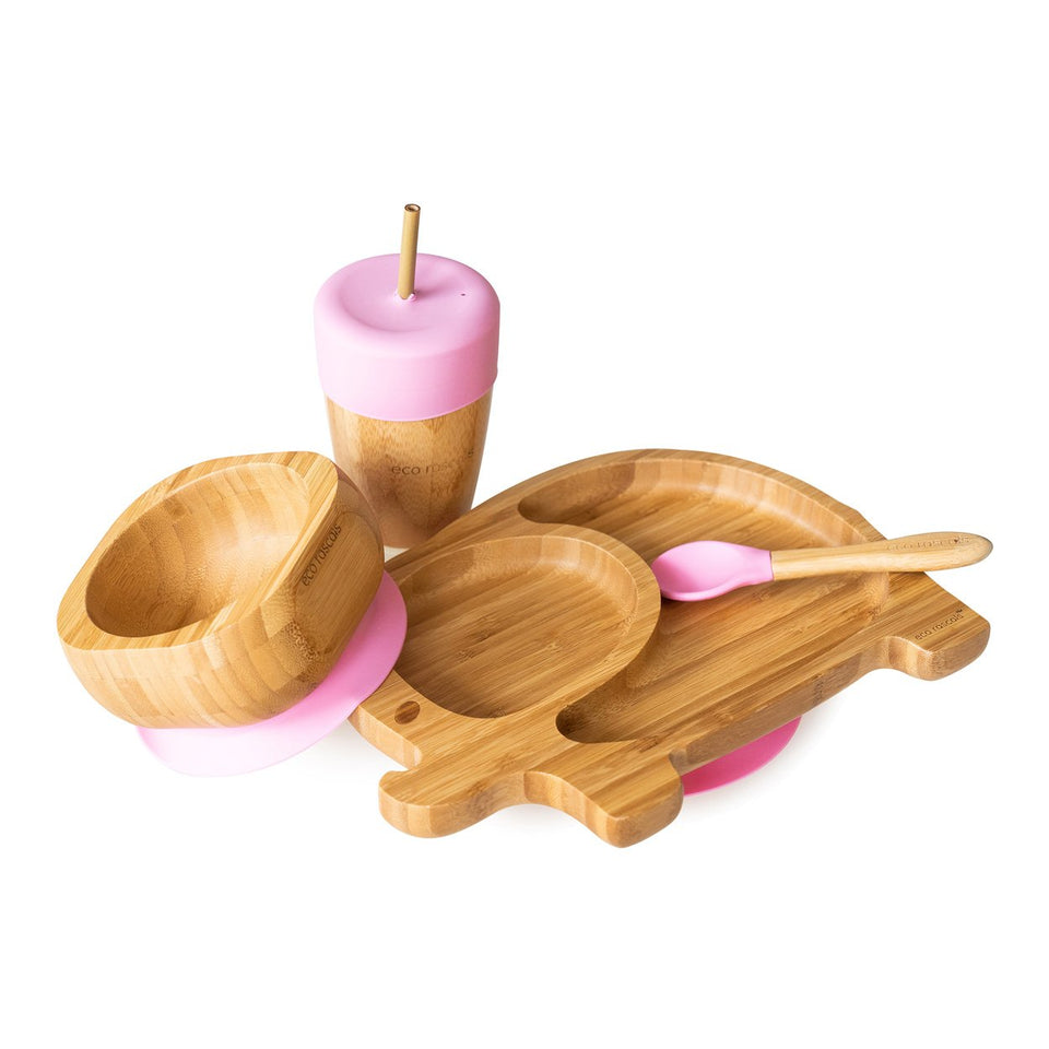 bamboo snack pots-Ecorascals