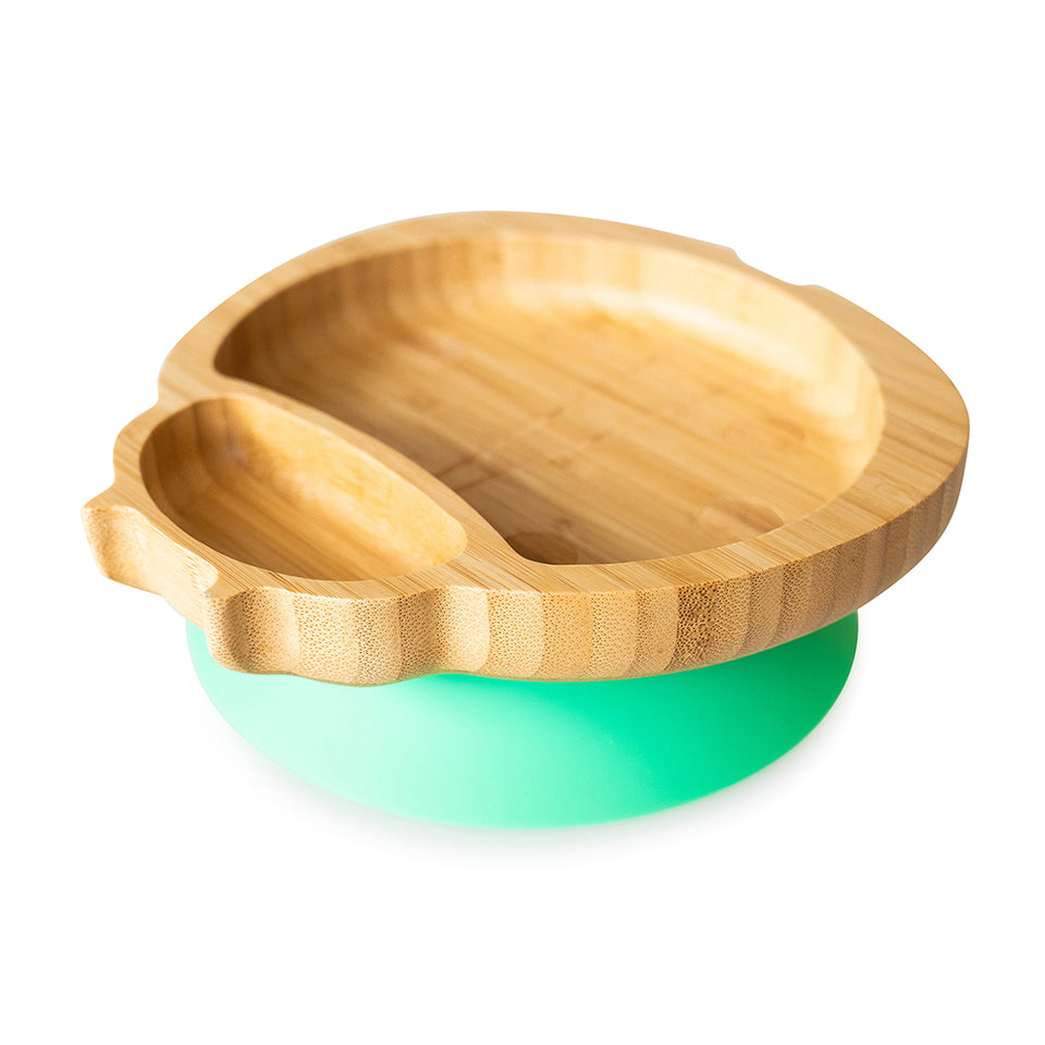 Bamboo suction and section plate - Ladybird
