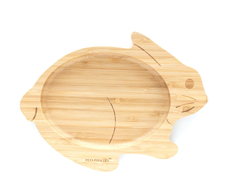 Bamboo plate - Rabbit