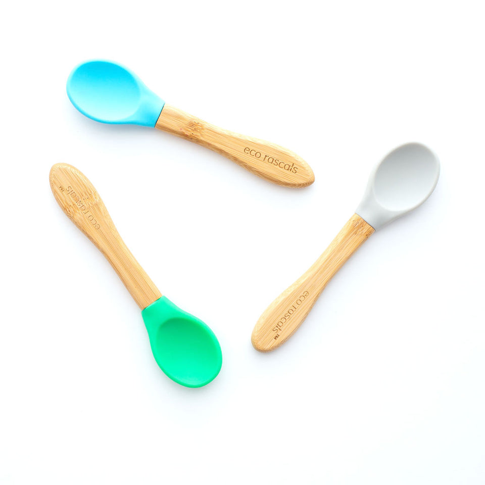 Best Baby Spoons BPA Free, Set of 3 Spoons for Babies and Toddlers