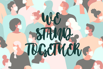 Standing Together – Six Feet Apart