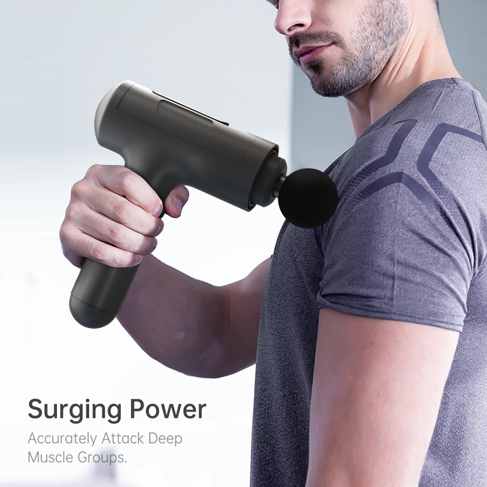 JS03 Massage Gun hypervolt Deep Tissue Full Body Muscle Relaxing