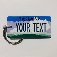 Kentucky License Plate Keychain