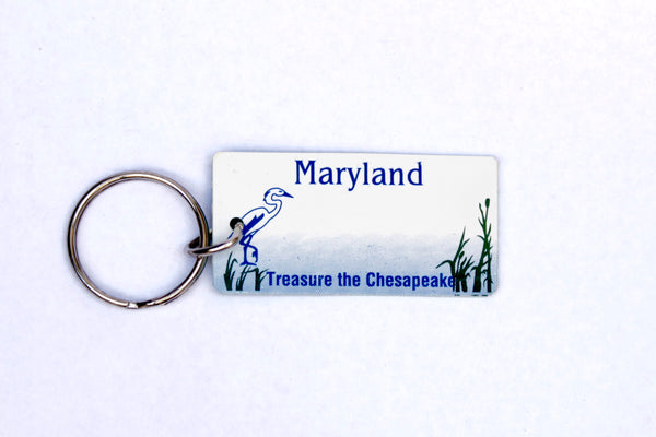 Maryland License Plate Keychain