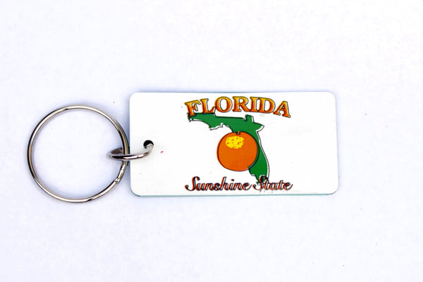 Florida License Plate Keychain