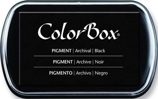 ColorBox Pigment Ink Pad--Black