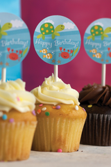 Under the Sea Party Cupcake Toppers