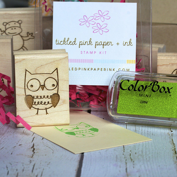 Cute Animal Stamp Kit