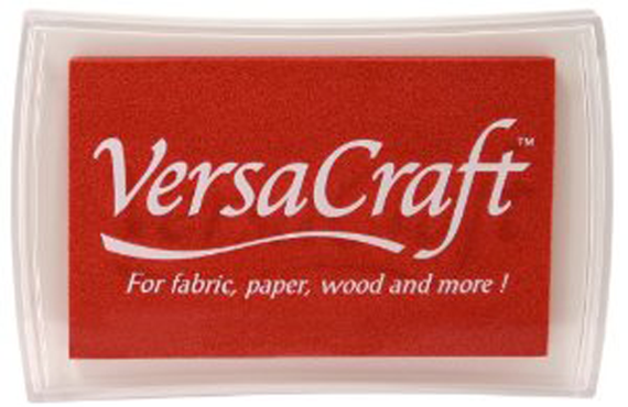 VersaCraft Ink Pad--Poppy Red