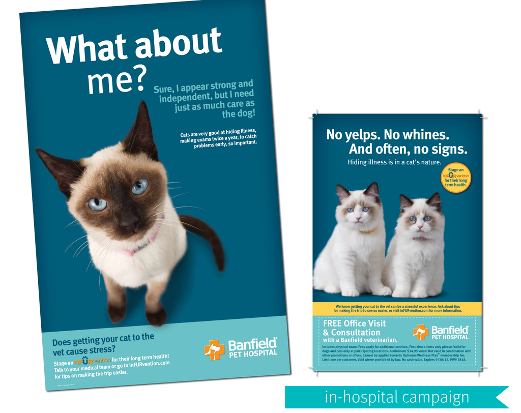 Banfield Pet Hospital In-hospital Cat Campaign