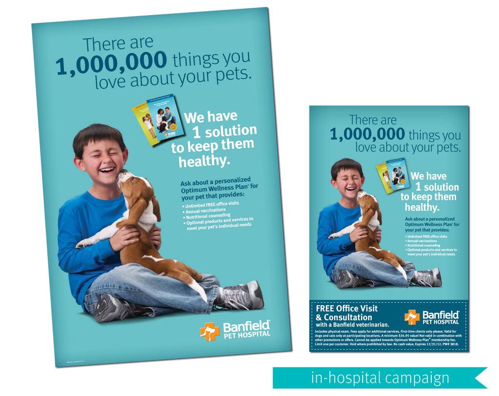 Banfield Pet Hospital Quarterly Campaign