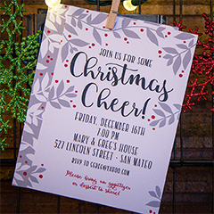 Christmas Cheer Invite