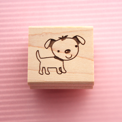 Art stamp--Cute doggie