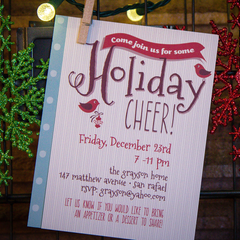 Holiday Cheer Invite