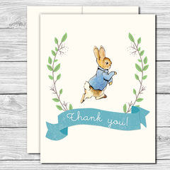 Thank you Notes--Peter Rabbit