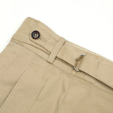 Dugdale Cotton D-Ring Shorts in Khaki