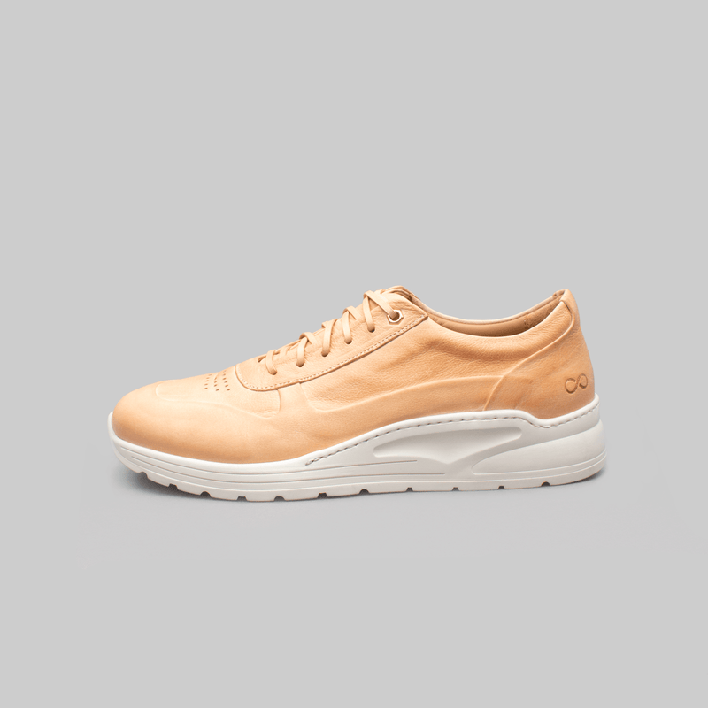 Trainer Sneaker in Vegetable Tanned Calf Leather