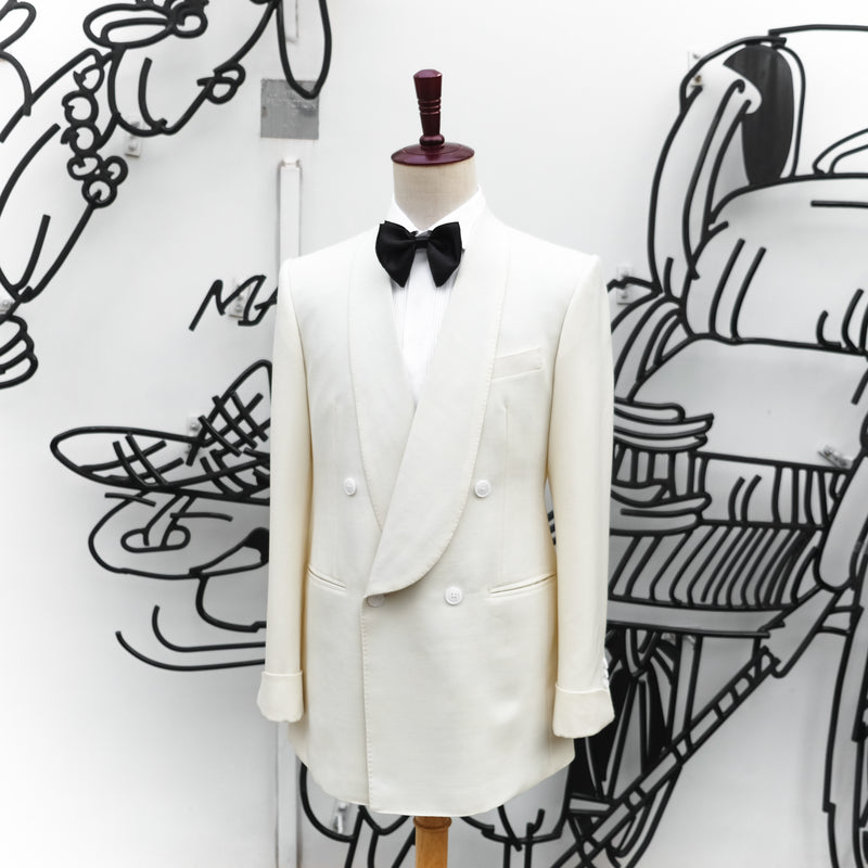 House Bespoke Pure Wool Tuxedo 2 pc Suit