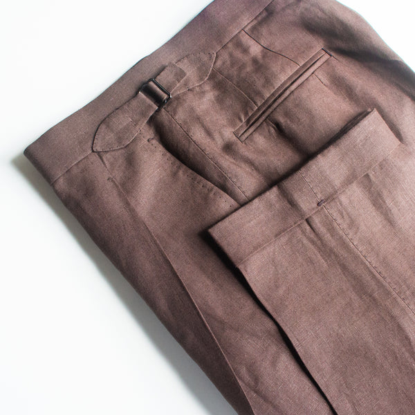 July Special Made-to-Measure Dugdale Natural Elements Trousers