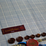 Pale Blue Check Ermenegildo Zegna Wool/Silk Jacketing (2.1m)