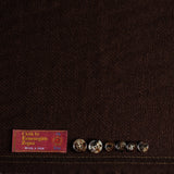 Rust Brown Ermenegildo Zegna Wool/Silk Jacketing (2.3m)