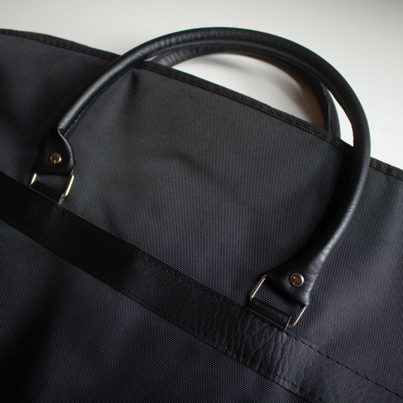 Garment Carrier Faux Leather Handle