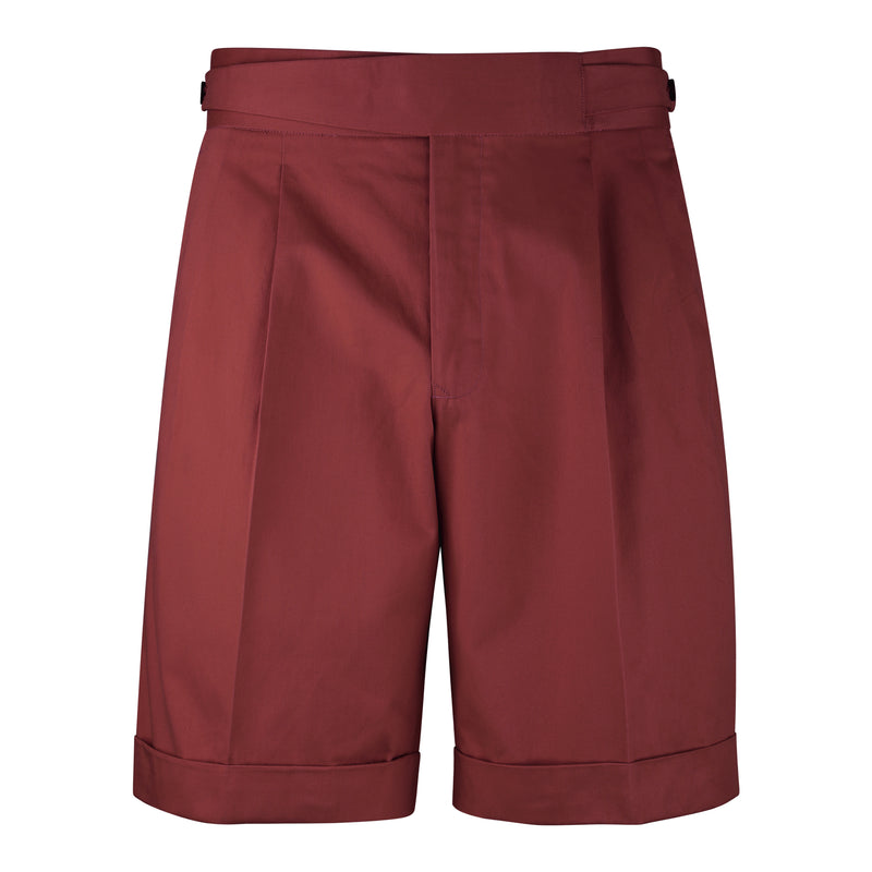 Red Gurkha Shorts