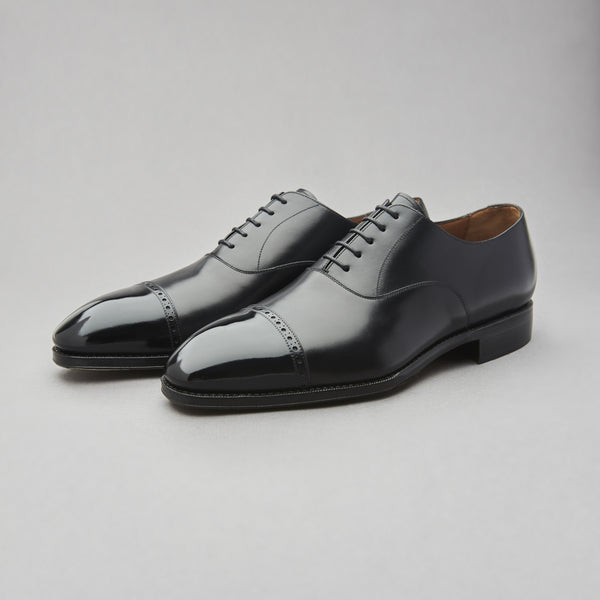 Men's Shoes - Yanko Brogued Cap Toe Oxford