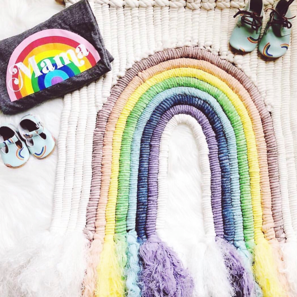 Rainbow Babe Nursery Inspiration
