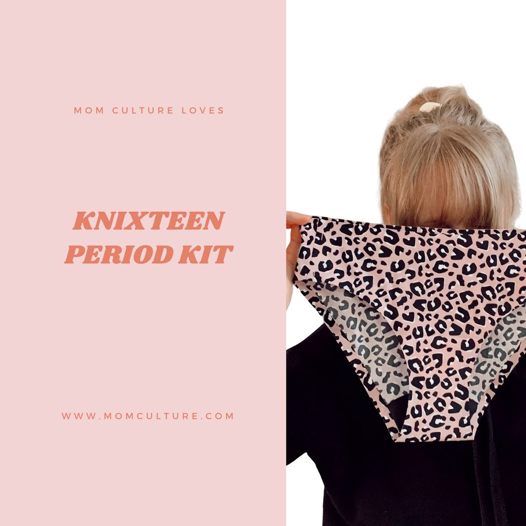 Period confidence with Knixteen period kit