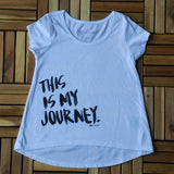 "Girls ""Journey"" High Low Tee"