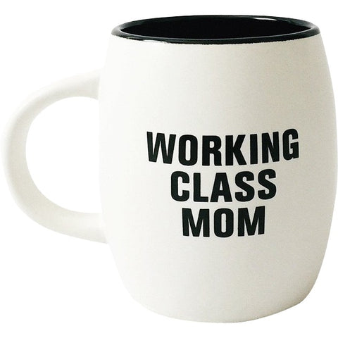 """WORKING CLASS MOM"" Mug - Matte two-tone"