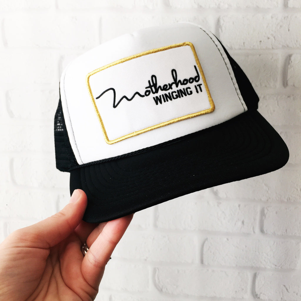 """Motherhood Winging It®"" Trucker Hat"