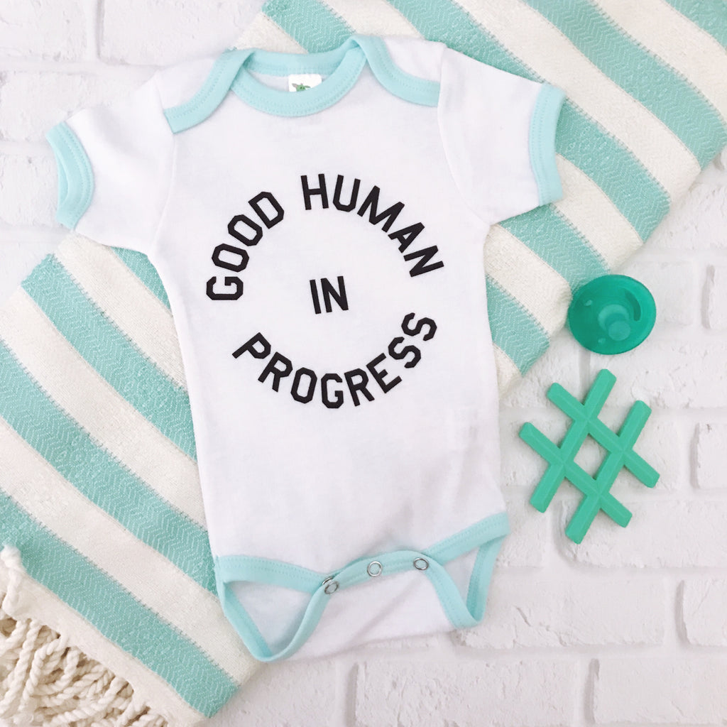 """Good Human In Progress©"" One Piece"
