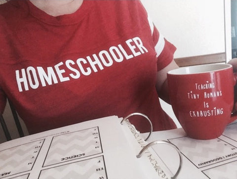 """HOMESCHOOLER"" Football Tee"