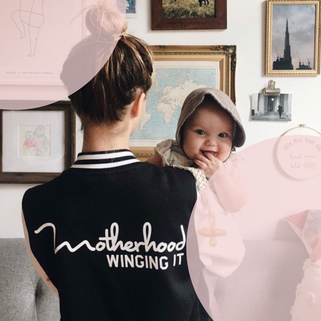 """Motherhood Winging It®"" Varsity Jacket"